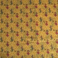 Tissu Paradis de Ratafia, petits motifs, designer Les Moutons de Kallou