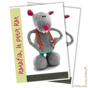 Patron PDF de Ratafia le rat.