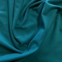 Jersey maille Bleu Canard, jersey bio