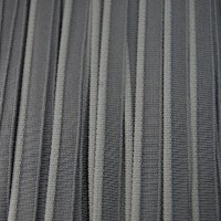Passepoil elastique, coloris Gris charbon