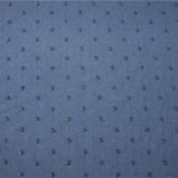 Tissu Plumetis Bleu Orageux