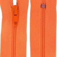 Fermeture éclair Orange 18cm