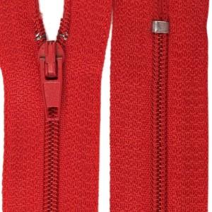 Fermeture éclair Rouge, 20 cm