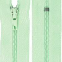 Fermeture éclair Vert Menthe Givrée, 20 cm