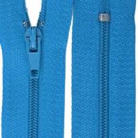 Fermeture éclair Bleu Pop, YKK 15 cm