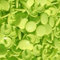 Pression Kam rond, coloris Vert Anis (lot de 10)