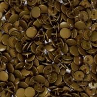 Pression Kam rond, coloris Bronze (lot de 10)