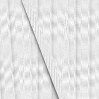 Gros Grain Blanc, 10mm