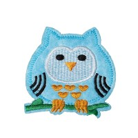 Ecusson thermocollant Hibou