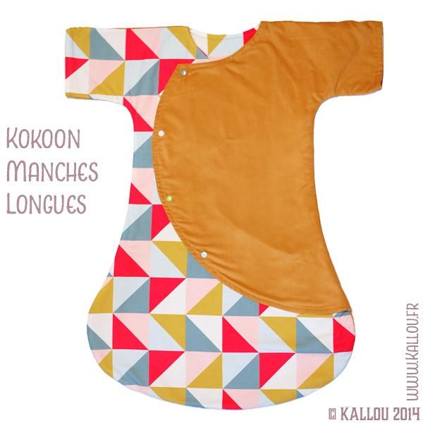 Favori Patron de couture : accessoire pour bébé, la turbulette Kokoon, 3  SW25
