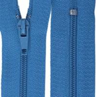 Fermeture éclair Bleu Atelier, 20 cm