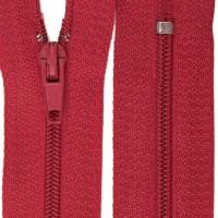 Fermeture éclair Rouge Beaujolais Nouveau, 20 cm
