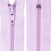 Fermeture éclair lilas, 20 cm