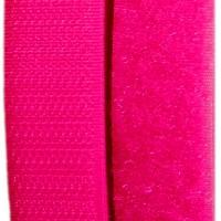 Velcro rose fluo, scratch ( x 50cm)