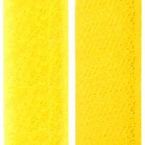 Velcro jaune fluo, scratch ( x 50cm)