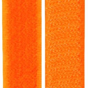 Velcro orange fluo, scratch ( x 50cm)
