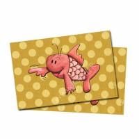 Carte postale Maurice le poisson