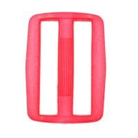 Boucle coulisse pour sac, 45mm coloris rose fushia flashy