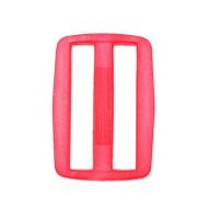 Boucle coulisse pour sac, 35mm coloris rose fushia flashy
