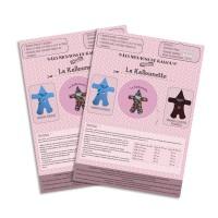 Pochette Papier du Patron de couture de la Kallounette, couverture nomade de 0 à 24 mois