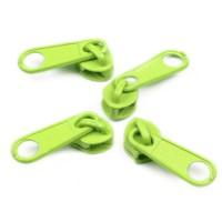 Curseur Vert anis pour Fermeture éclair vendue au mètre (pour maille de 3mm)