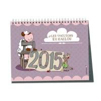 """Cahier calendrier """"Les mois de l'année"""" des Moutons de Kallou"""