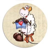 Modèle Mouton Tricoteur