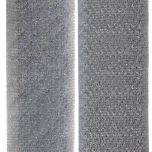 Velcro gris souris, scratch ( x 50cm)