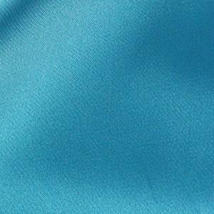 Tissu pour doublure coloris bleu azur, belle qualité (x 50cm)
