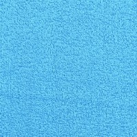 Tissu éponge, coloris turquoise (x 50cm)