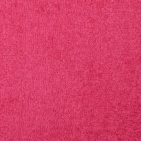 Tissu éponge, colori rose fushia (x 50cm)