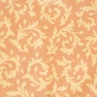 Tissu Swirly Buds coloris rose saumoné  designer Heather Bailey (x 50cm)