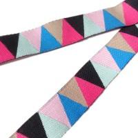 Ruban triangles assortis