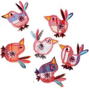 Ecusson thermocollant Oiseau (coloris au hasard)