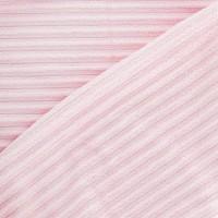 Velours de coton à fines côtes, coloris rose dragée (x 50 cm)