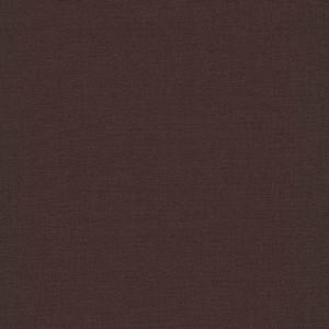 Tissu 100% coton coloris Chocolat (x 50cm)