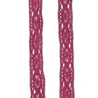 Dentelle coloris rose framboise, largeur 14mm