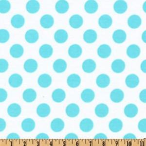 Tissu Ta Dots coloris mer, designer Michael Miller