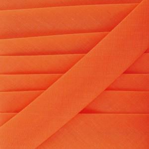 Biais Orange, pré-plié 8mm