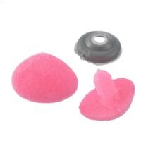 Nez sécurité Velours Rose, 15 mm pour peluche (lot de 2)