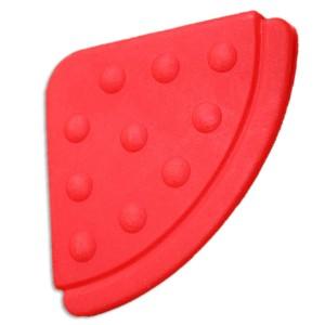 Angle de dentition à coudre, coloris rouge