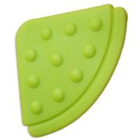 Angle de dentition à coudre, coloris vert anis