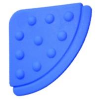 Angle de dentition à coudre, coloris bleu foncé