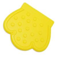 Patte de dentition à coudre, coloris jaune