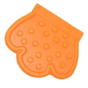 Patte de dentition à coudre, coloris orange