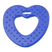 Coeur de dentition à coudre, coloris bleu