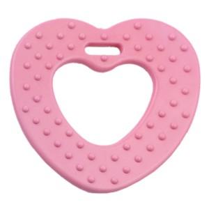 Coeur de dentition à coudre, coloris rose ancien