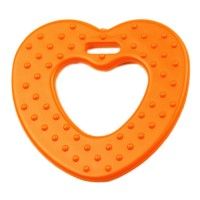 Coeur de dentition à coudre, coloris orange