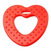 Coeur de dentition à coudre, coloris rouge