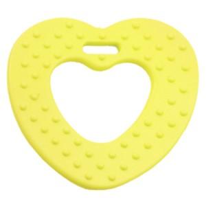 Coeur de dentition à coudre, coloris jaune